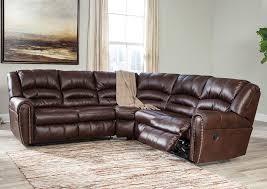 Chocolate Sectional Sofa Major Discount Furniture Manzanola Chocolate Reclining Sectional