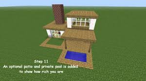 minecraft modern house tutorial youtube