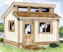 Diy Garden Shed Plans by 10x12 Modern Backyard Shed Plans From Icreatables Com Modern