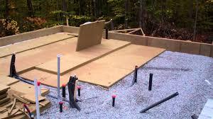 insulating concrete slab on grade floors youtube