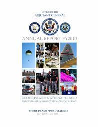 rhode island national guard u0027s 2010 annual report by rhode island