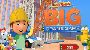 handy manny big crane game disney complete game kids