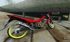 suzuki motorcycle 150cc suzuki satria fu 150cc 2011 semi drag for gta san andreas