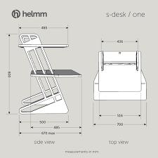 Desk Measurements by S Desk U201c22 U201d U2013 Helmm