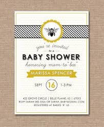 baby shower bee theme baby shower invitations bee theme 9a540277257d6dc0830554d19c35c63e