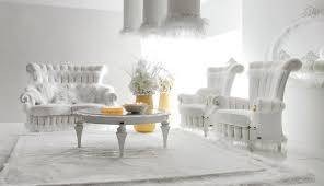 luxurious baby pink and white living room interior fp