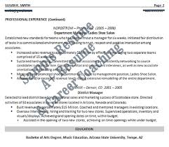 Nordstrom Resume Sales Resume A Resumes