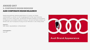 corporate design preis awards for audi digital branding kevin robert mitchell