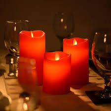 christow real wax flickering led candles this is it stores uk