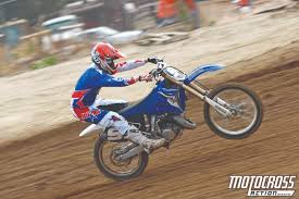first motocross race motocross action magazine mxa test 2014 yamaha yz125 two stroke