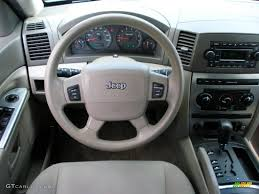 2005 jeep grand cherokee laredo khaki steering wheel photo
