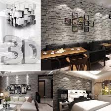 Tapisserie Cuisine 4 Murs by 0 53 10m 3d Brique Papier Peint Fond Mur Wallpaper Pr Decoration