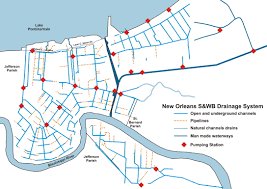 New Orleans Flood Zone Map by Development Of The New Orleans Flood Protection System Prior To
