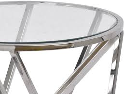 silver metal bar table metal bars round table criss cross bars table libra nickel twist