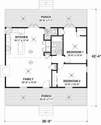 2 bedroom cabin plans 48 elegant 2 bedroom cottage plans