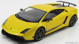 lamborghini gallardo superleggera yellow autoart 74658 scale 1 18 lamborghini gallardo lp570 4