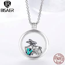 locket necklace aliexpress images Genuine 925 sterling silver medium petite memories floating locket jpg