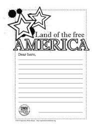 free memorial day coloring page and thank you notes troops