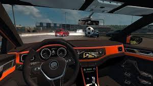 mod car game euro truck simulator 2 volkswagen polo 2018 1 28 x car mod euro truck simulator 2 mods