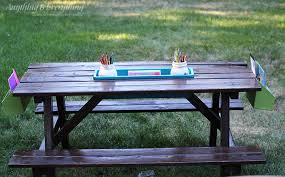 Kids Outdoor Picnic Table Kids Activity Picnic Table Anything U0026 Everythinganything