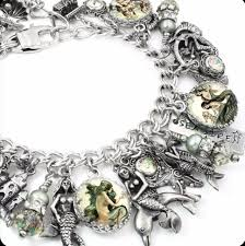 Shopping Resources For Bohemian Charm by Sirens Of The Sea Mermaid Charm Bracelet Sirens Mermaid And
