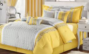 White And Grey Nursery Curtains by Bedding Set Yellow Grey And White Bedding Temul Black U0026 White