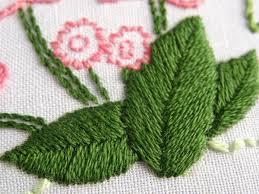 Fish Bone Stitch Embroidery Tutorials Fishbone Stitch Embroidery Tutorial Wandering Threads Embroidery
