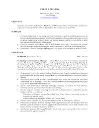 resume objective example marketing resume objective free resume example and writing download marketing resume objective template entry level marketing resume objective
