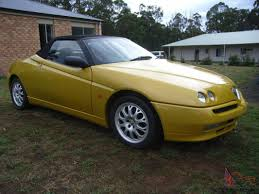romeo spider millennium 2000 convertible manual 2l multi point in vic