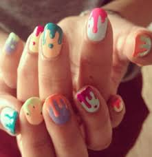 53 best dripping paint nail art images on pinterest drip nails