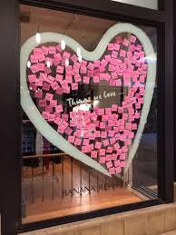 Valentine S Day Window Decor by Adorable Valentine U0027s Windows At Banana Republic Ilove