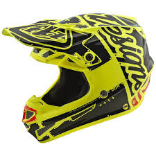 valentino rossi motocross helmet troy lee designs se4 polyacrylite off road racing motorcycle mx