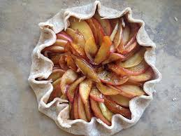 clemence cuisine recipe pastry chef clémence gossett s apple galette kcrw