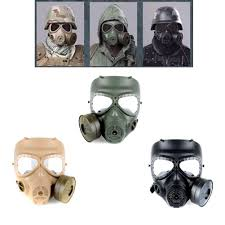 Halloween Costumes With Gas Mask by Amazon Com Often Airsoft Paintbal Dummy Gas Mask Fan For Cosplay