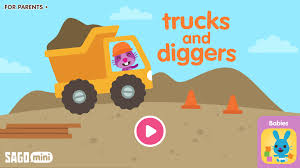 can head to the construction site with the new sago mini trucks