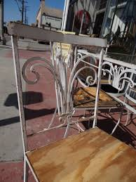 Green Wrought Iron Patio Furniture by Salterini 1928 1953 Wrought Iron Outdoor Patio Furniture F635
