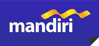 Bank Mandiri Logo Bank Mandiri Blue Background The Miracle Of Baitullah