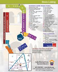 Orlando Map Store by Shopping At Lake Buena Vista Factory Stores Sparklyeverafter Com