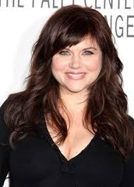 short hair fat oblong face long curled locks with side bangs on a full round face hair