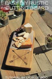wedding cutting board diy rustic personalized wood cutting board