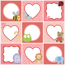 valentine u0027s day cute printable tags for kids