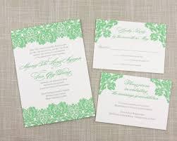 Damask Wedding Invitations Biltmore Damask Letterpress Wedding Invitation U2013 Scotti Cline Designs