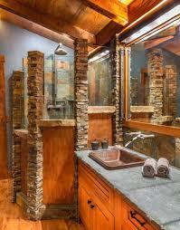 Rustic Bathroom Tile - bathroom distressed wood bathroom vanity grey bathroom decor