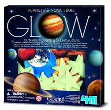 amazon com 4m glow planets and nova stars toys u0026 games