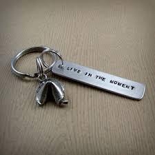 fortune cookie keychain wishbone keychain wish key chain from insanejellyfish