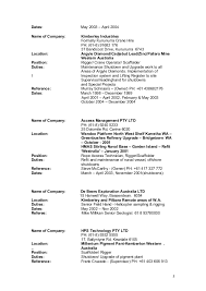 Resume Referee Sample by Updated Resume 2016