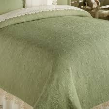 Quilted Cotton Coverlet Reversible Elise Matelasse Quilt Bedding