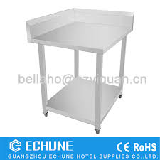 Stainless Kitchen Work Table stainless steel corner work table stainless steel corner work