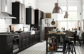 new bath w ikea sektion cabinets image heavy contemporary or classic black kitchens serve up style the boston