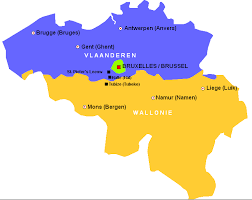 belgium language map border traveler belgium s linguistic barrière